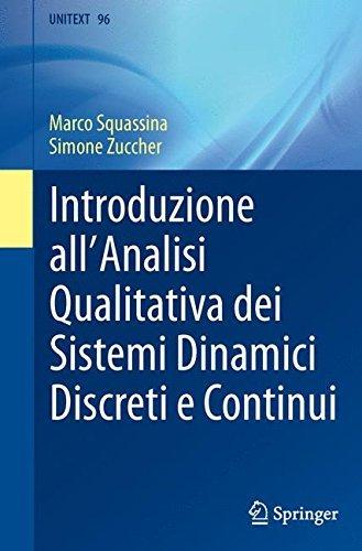 Introduzione all'analisi qualitativa dei sistemi dinamici discreti e continui
